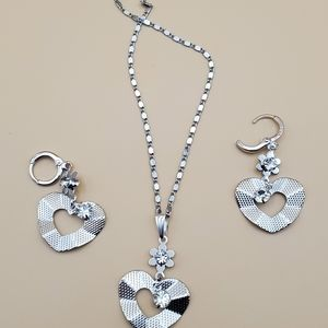 Stainless steel set hearts